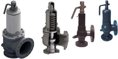 Blupax - Flanged ANSI 300 Safety Relief Valves